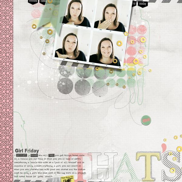 In Silhouette Vol.1 for Digital Scrapbooking by The Nifty Pixel