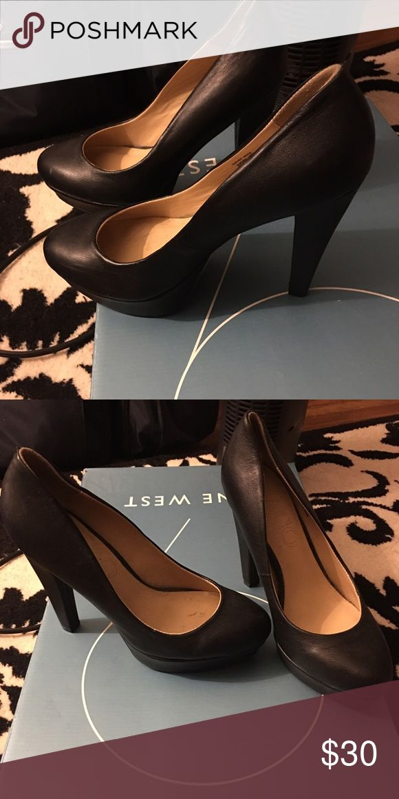 Paco Gil platform pump Worn once, 9/10 condition purchased from hsn- they are 4 inches leather size 7.5 paco gil Shoes Heels