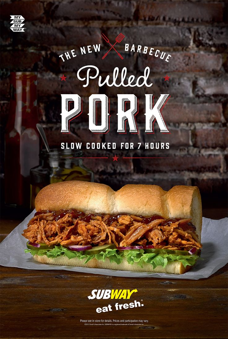 #danmatthews #photography #stilllife #food #advertising #subway #sub pulledpork #tasty #inspo #barbeque