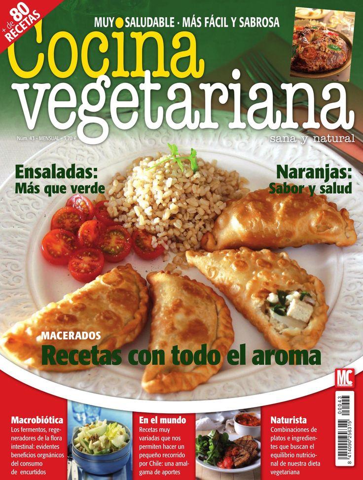 Revista COCINA VEGETARIANA 43. #Recetas con todo el aroma.