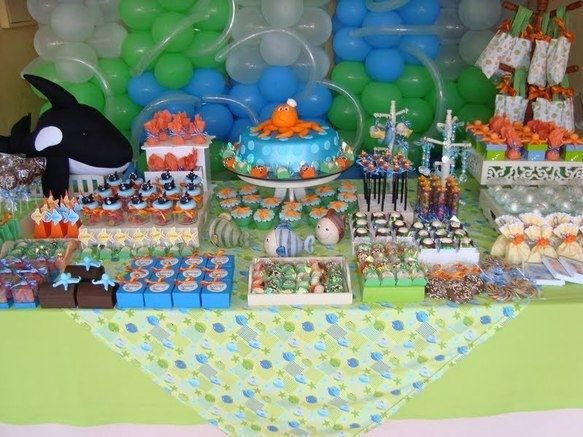 High Quality 109 Best Under The Sea Theme Baby Shower Images On Pinterest | Recipes,  Birthday Party Ideas And Events