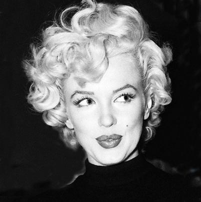 """I call the color of my hair - Pillow Case White"" - Marilyn Monroe"