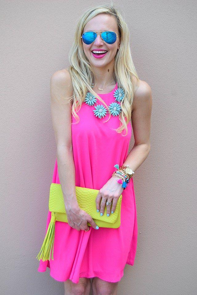GiGi New York | Neon Yellow Stella Clutch | Vandifair Fashion Blog