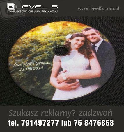 Nadruk jakości foto na płycie DVD.