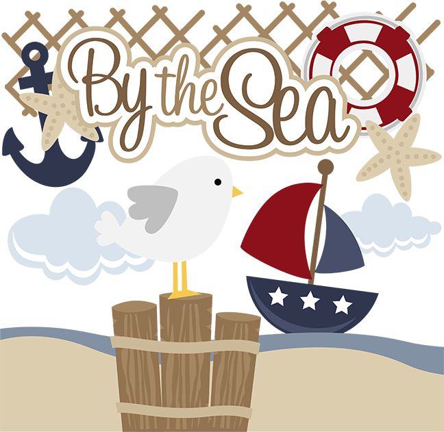 By The Sea - SVG scrapbooking files