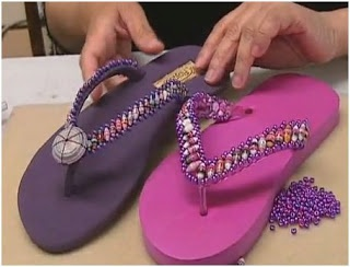 The Beading Gem's Journal: Bling for Shoes and Accessories - Inspirations and Tutorials