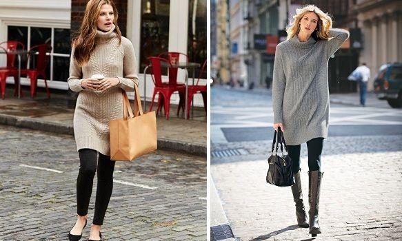 Kako nositi džemper-haljinu « Najbolja Mama Na Svetu