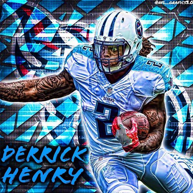 Derrick Henry (@last_king_2) #nfl #myedit #derrickhenry #rb #tennesseetitans #2…