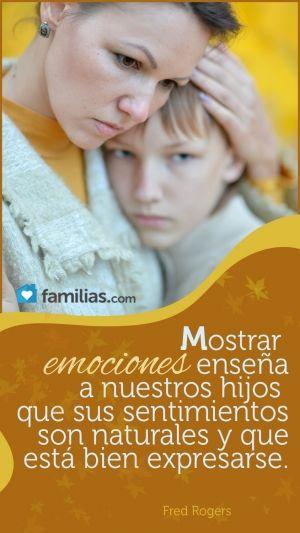 ¿Por qué nos cuesta tanto llorar en presencia de nuestros hijos?