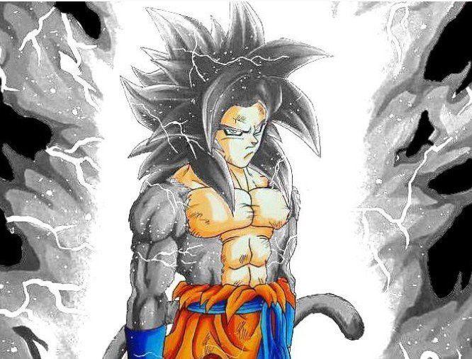 Goku Mui 4 Dragon Ball Goku Anime Character Design Dragon Ball Art