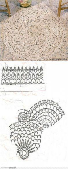 dywanik ze wzorem