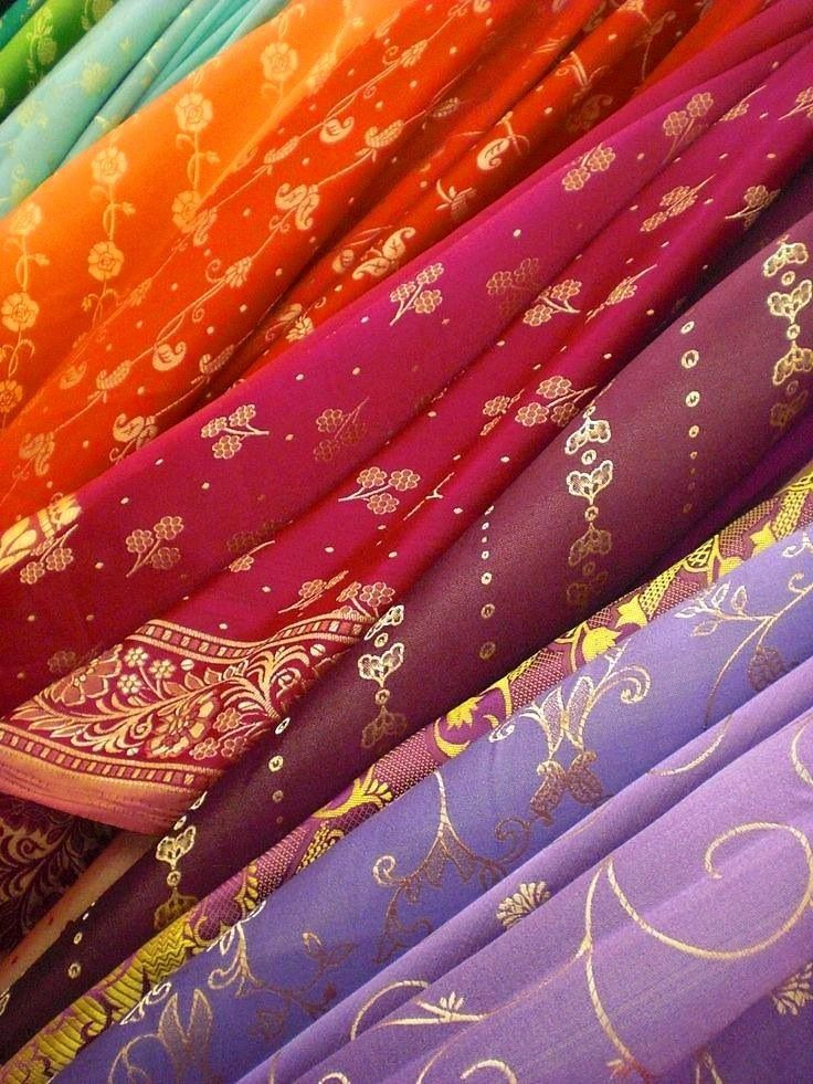 Beautiful Indian Sari fabric