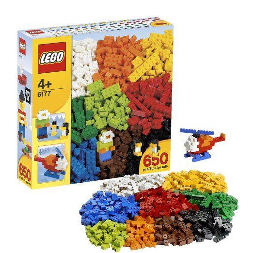 Lego - 6177 - LEGO Ville - Jeux de construction - Boîte de complément de luxe LEGO: Amazon.fr: Jeux et Jouets