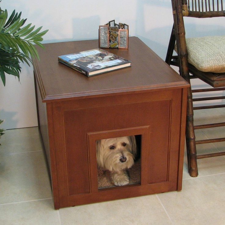 28 best dog crate end table images on pinterest | dog crate end