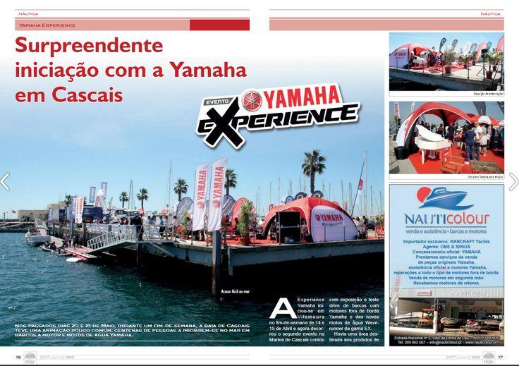 O Yamaha Experience de Cascais em destaque na Notícias do Mar!Obrigado! https://issuu.com/media4u/docs/nm366  #yamaha #yamahamarine #yamahamusiceurope #yamahamotor #waverunneryamaha #yamahawaverunner #mundoyamahamarine #yamahaexperience #eventoyamaha #marinadecascais #cascais #eventogratuito #entradalivre #noticiasdomar #clipping