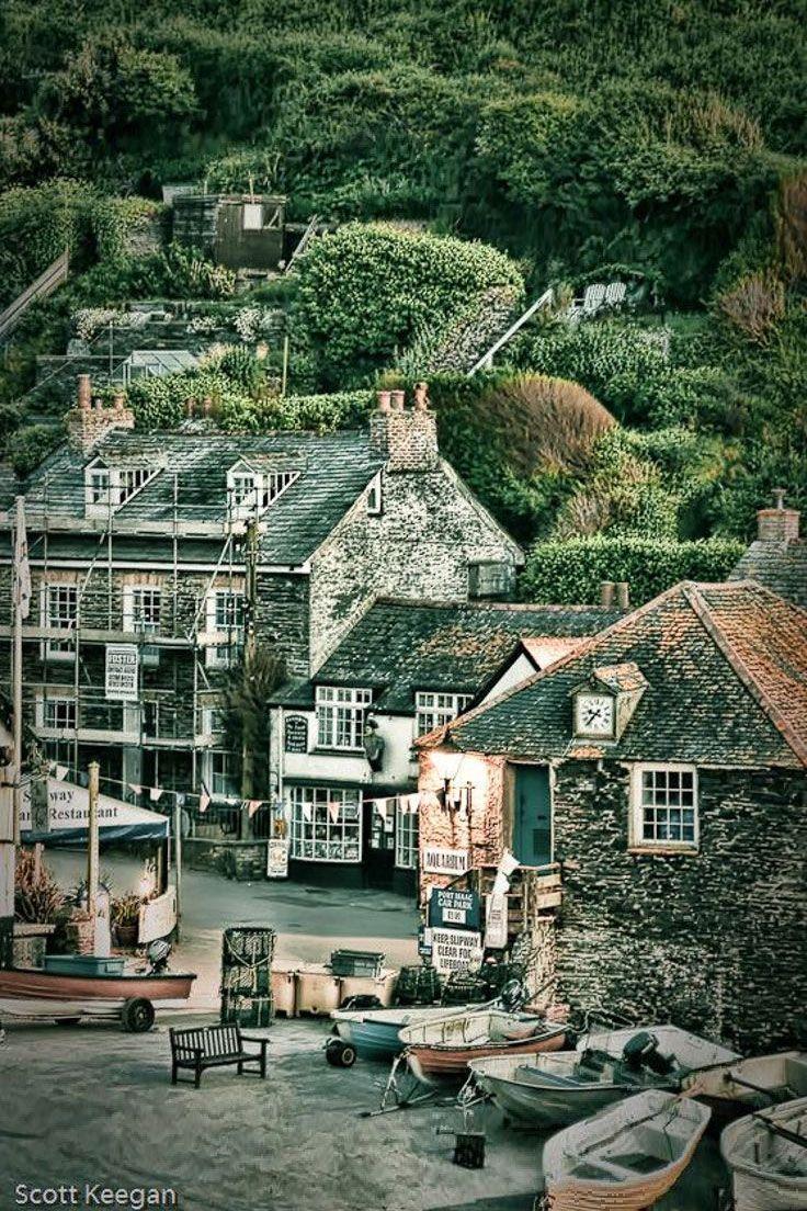 Port Isaac, Cornwall, England