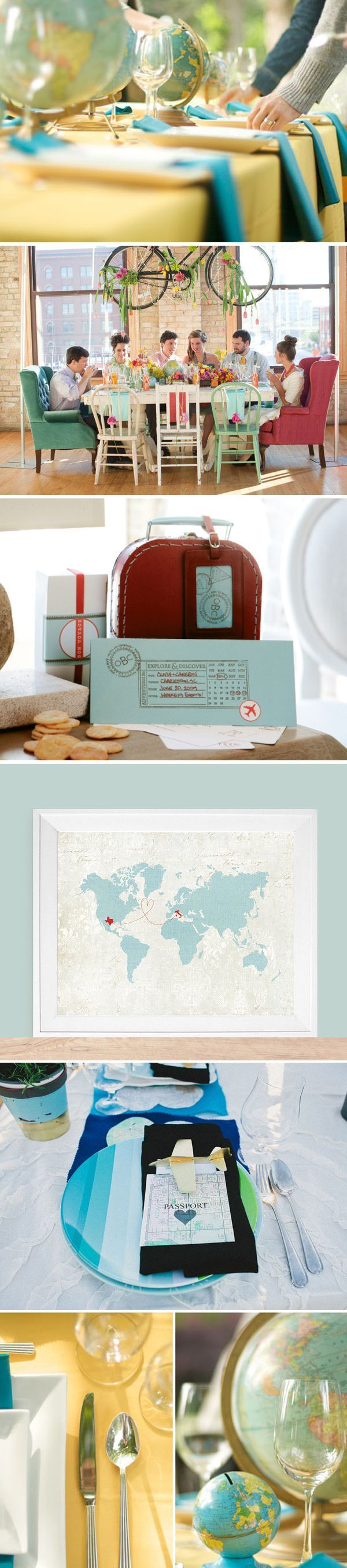 Best Travel Themed Weddings Images On Pinterest Travel