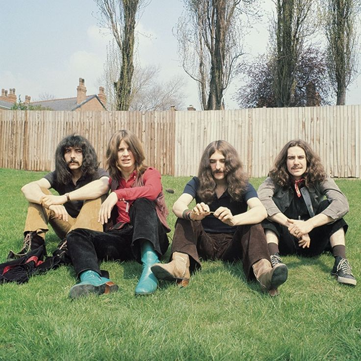 The first ever picture taken of Black Sabbath ,1968  by Jim Simpson