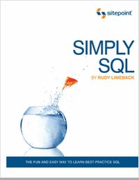 """Simply SQL - Free 111 Page Preview!"" Simply SQL is a practical step-by-step guide to writing SQL. Teach Yourself SQL - The Easy Way! You'll learn how to make the most of your data using best-practice SQL code. Rather than bore you with theory, it focuses on the practical use of SQL with common databases and uses plenty of diagrams, easy-to-read text, and examples to help make learning SQL easy and fun."