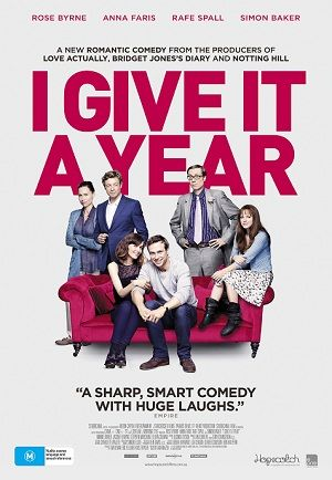 Win movie tickets to I Give It A Year starring Rose Byrne!