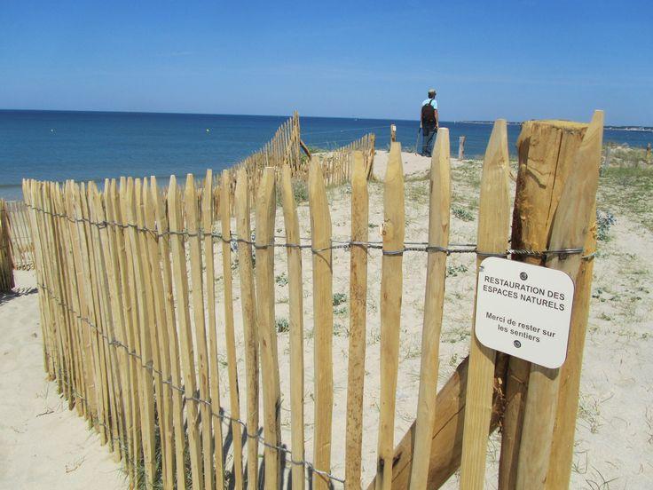 Een veelgebruikte toepassing van dit hekwerk is als diervriendelijke en veilige afscherming voor kinderen langs bijvoorbeeld vijvers, en als oever-, kust- en duinbescherming