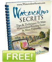 FREE PDF Watercolour Secrets by Bob Davies. ALL you have to do is enter your email and a LINK to download will come to you. 85 page PDF. Just amazing info for FREE !!! When you get the download link, you can choose 10 files or you can download it all at once. I opted for the all at once. I have a FAST internet connection and it took less than 20 min.