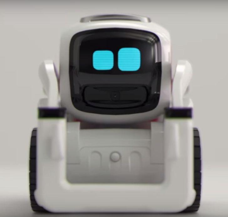 @Anki small Cozmo robot has AI emotions