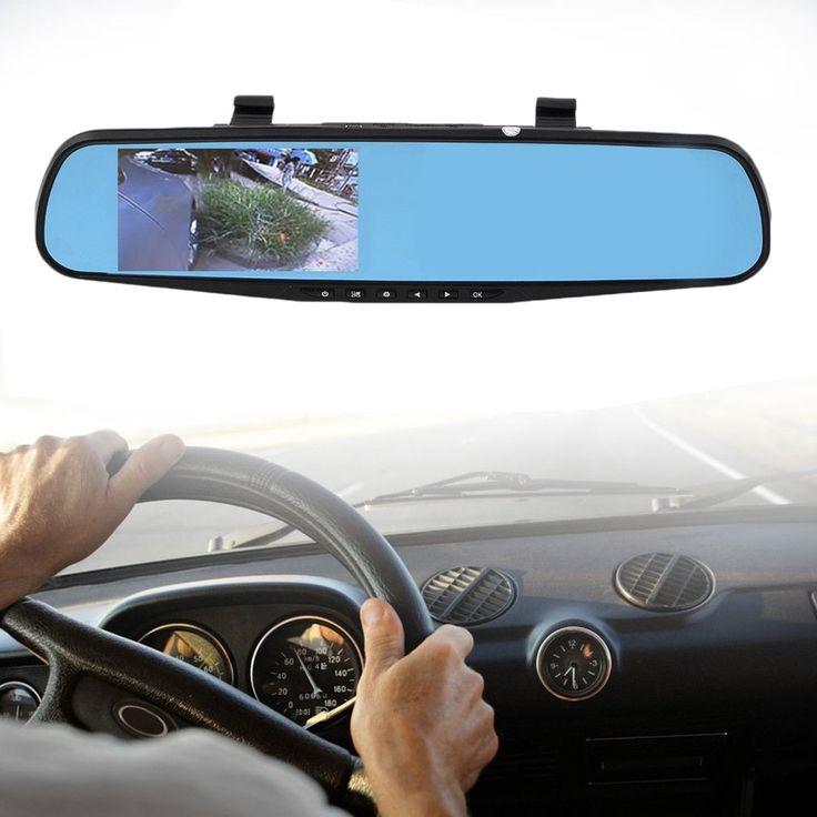 HD 1080P Car Vehicle Traveling Data Record Rear View Mirror Camera G-sensor