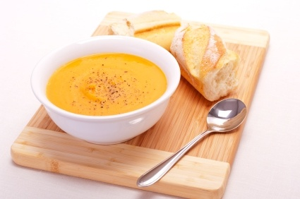 Sweet Potato and Pumpkin Soup | Stay at Home Mum