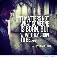 Favorite Dumbledore Quote