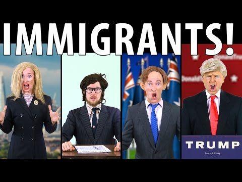 RN34 Immigrants! Feat. Donald Trump & Tony Abbott [RAP NEWS 34] - YouTube