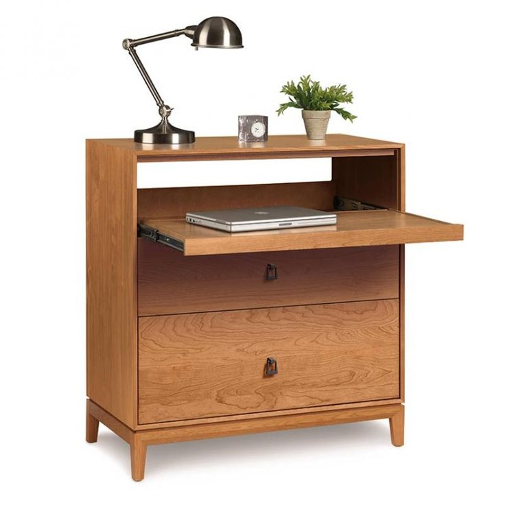 Buy Mansfield 2 Drawer Dresser Top Coat Finish Conventional, Finish  Natural Cherry. Buy the Astrid Laptop Desk ...