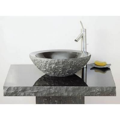 High Quality Round Lav Sink With Beveled Rim From Stone Forest @Shannon Stone Forest