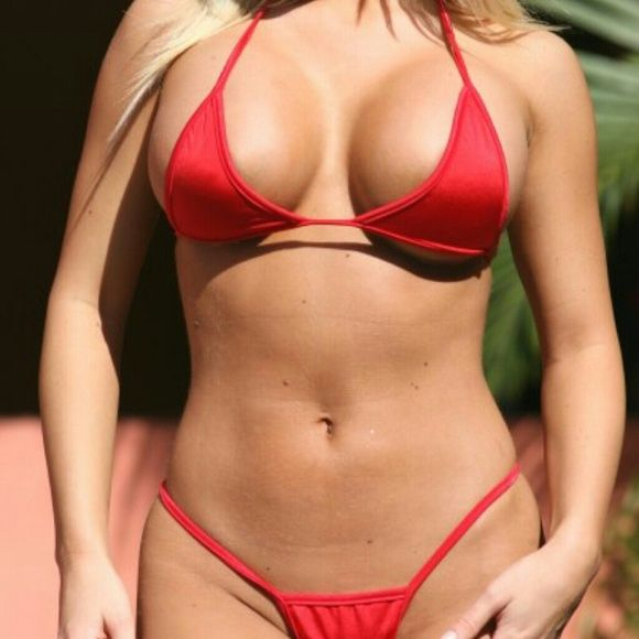 Sexy Red Bikini Hot Red Bikin Accessories