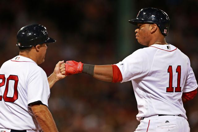 #MLB: Los Quisqueyanos Devers Núñez ayudaron a Medias Rojas a vencer a Indios