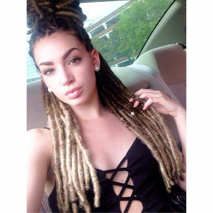 These Seem Like Faux Locs, But Beautiful Non The Less