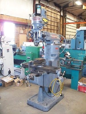 9536-Bridgeport-Vertical-Milling-Machine-Used