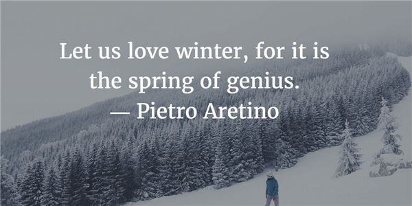 - Clever Quotes about Winter's Beauty and Harshness - EnkiVillage