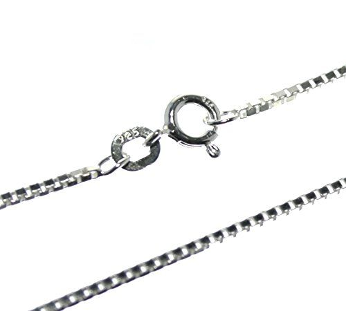 Silberkette Venezianer 1,1mm 40-70cm 925 Sterling Silber Designschmuck necklace https://www.amazon.de/dp/B01N6Q7EB4