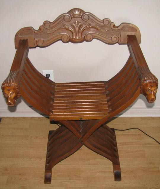 21 best savonarola chair images on pinterest chairs for Chair in italian