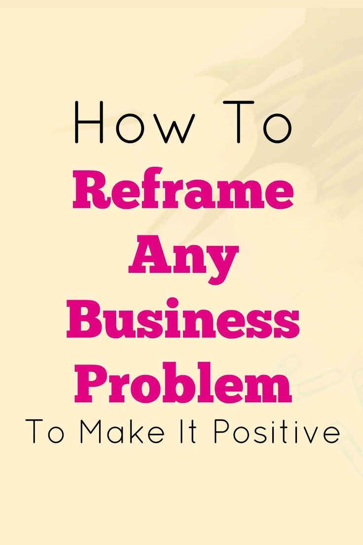 positive reframing Used in nlp, reframing is changing the meaning of a communication by changing the context, or the content so that it may possibly mean something else.