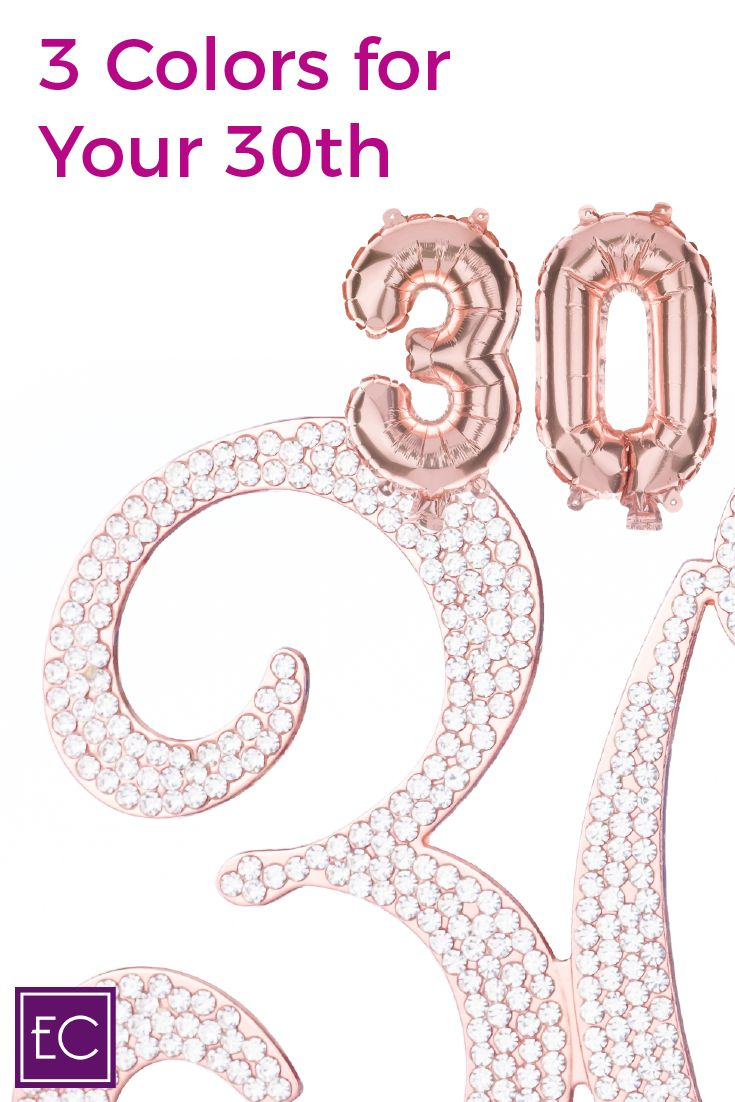30 cake topper rose gold birthday cake toppers happy