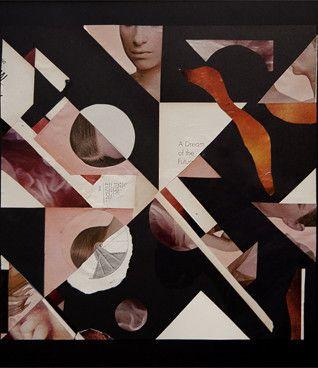John Whitlock: A Dream of the Future, 2012 www.kidsofdada.com/products/dream-of-the-future-2012 #geometric #collage #art