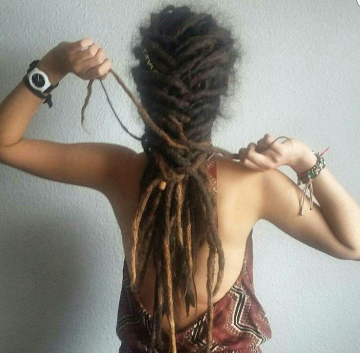 Dreadlock Styles #dreadlockhairstyles Dreadlock Hairstyles #Dreads