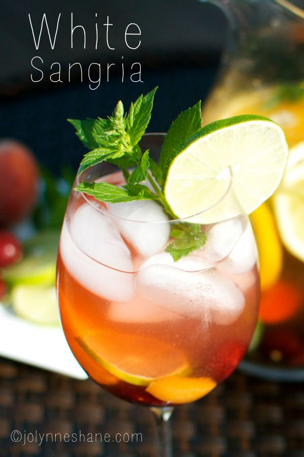 This white sangria recipe is simply the best! I tried it about 110 different ways before coming up with this perfect recipe. ENJOY!