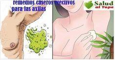 Elimina el mal olor de tus axilas para siempre con estos sencillos trucos!