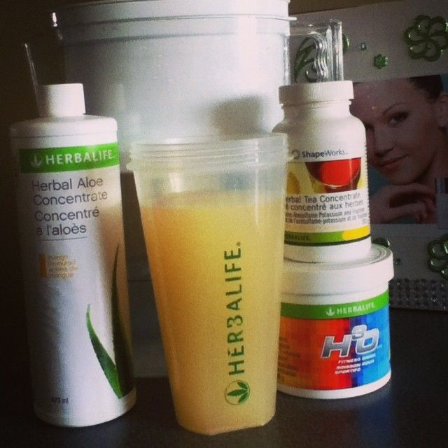 Aloe Mango - H30 And Tea Best way to start your day