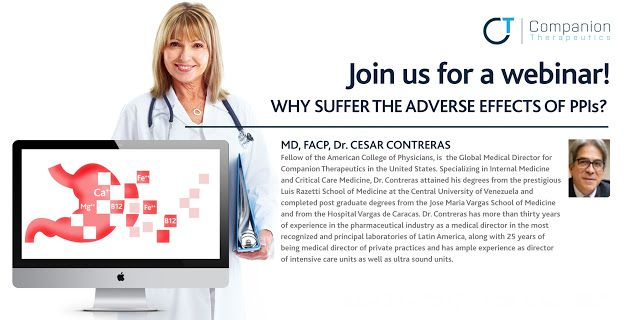 Living with Gerd: Webinar WHY SUFFER THE ADVERSE EFFECTS OF PPIs