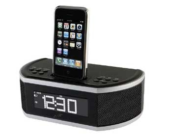 Amazon.com: iLive Clock Radio with Docking and Charging Station for iPhone/iPod (Black): MP3 Players & Accessories