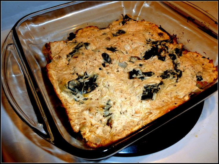 17 Day Diet Diary: Chicken and Spinach Casserole: C1